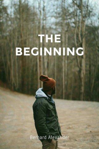 THE BEGINNING Bernard Alexander