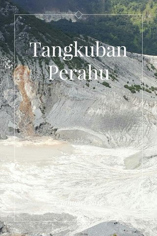 Tangkuban Perahu 1 Januari 2017