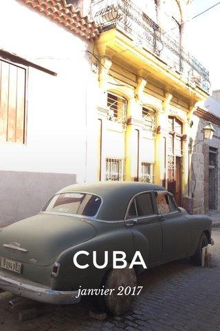 CUBA janvier 2017