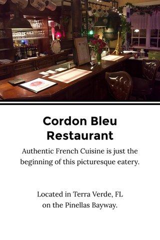 Cordon Bleu Restaurant