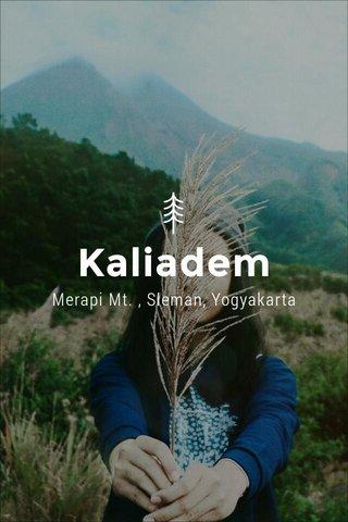 Kaliadem Merapi Mt. , Sleman, Yogyakarta