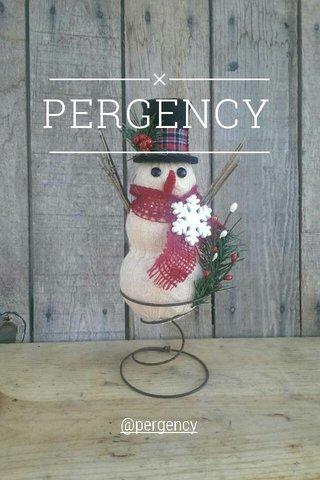 PERGENCY @pergency