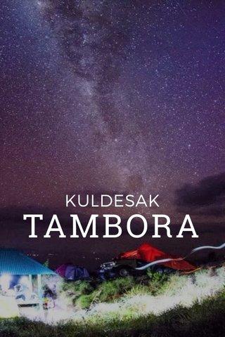 TAMBORA KULDESAK
