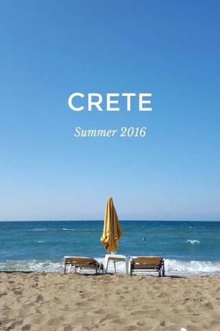 CRETE Summer 2016