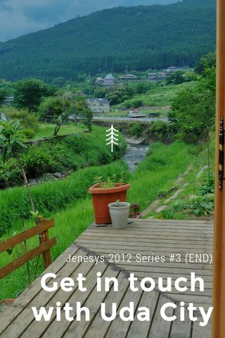 Get in touch with Uda City Jenesys 2012 Series #3 (END)