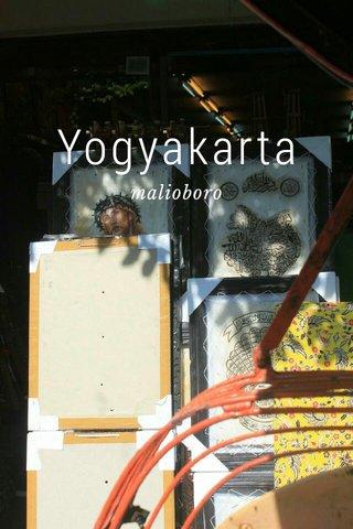 Yogyakarta malioboro