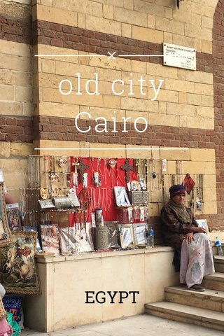 old city Cairo EGYPT