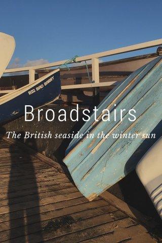 Broadstairs The British seaside in the winter sun