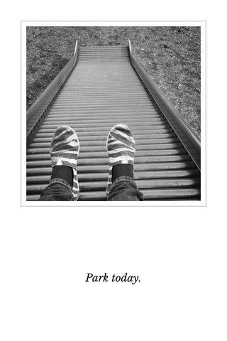 Park today.