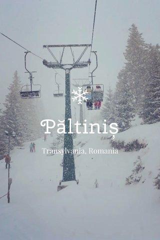 Păltiniș Transylvania, Romania