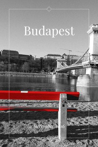 Budapest December 2016