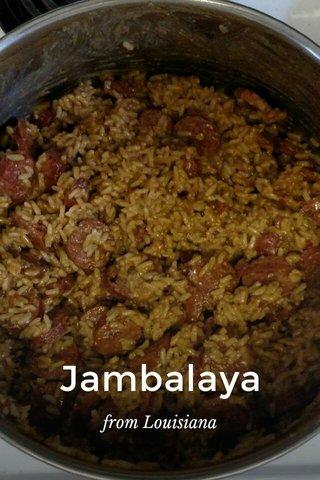 Jambalaya from Louisiana