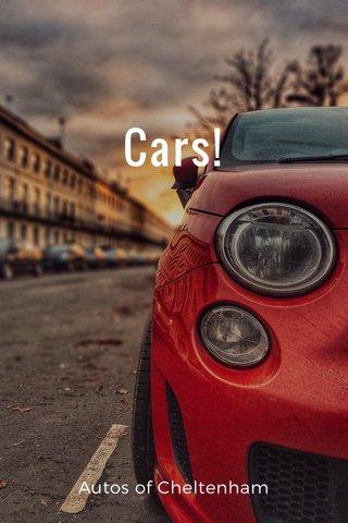 Cars! Autos of Cheltenham