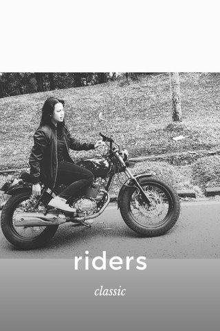 riders classic