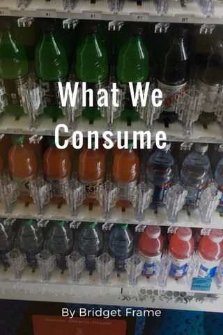 What We Consume By Bridget Frame