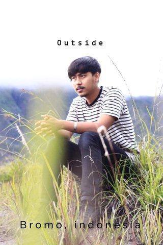 Outside Bromo, indonesia