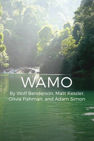 WAMO By Wolf Benderson, Matt Kessler, Olivia Fishman, and Adam Simon