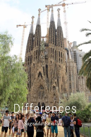 Differences Sagrada Familia