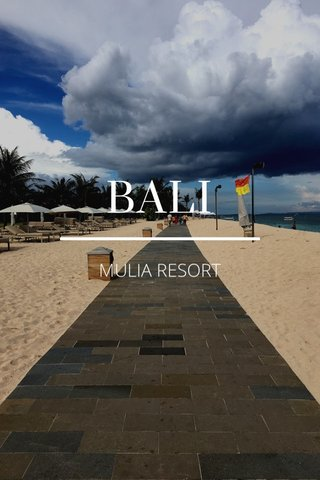 BALI MULIA RESORT