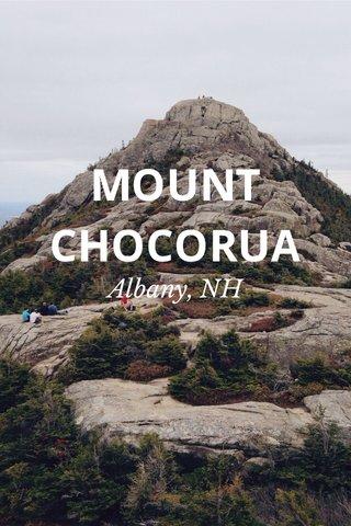 MOUNT CHOCORUA Albany, NH