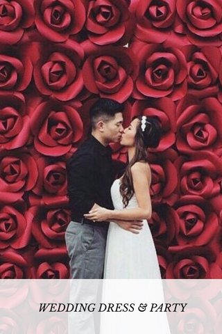 WEDDING DRESS & PARTY