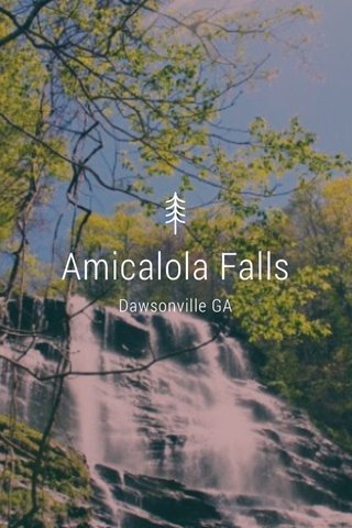 Amicalola Falls Dawsonville GA