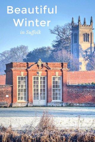 Beautiful Winter in Suffolk