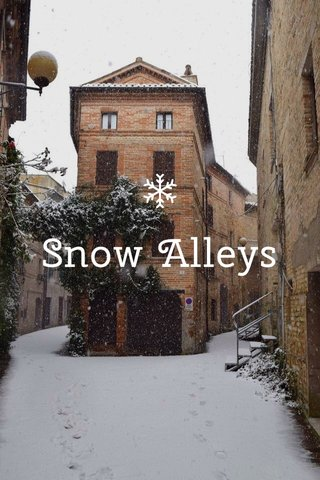 Snow Alleys