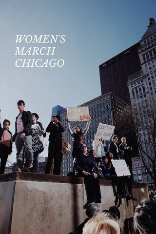 WOMEN'S MARCH CHICAGO