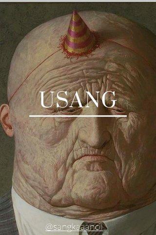 USANG @sangkaaancil