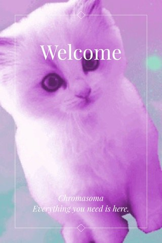 Welcome Chromasoma Everything you need is here.