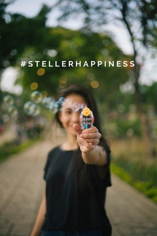 #STELLERHAPPINESS