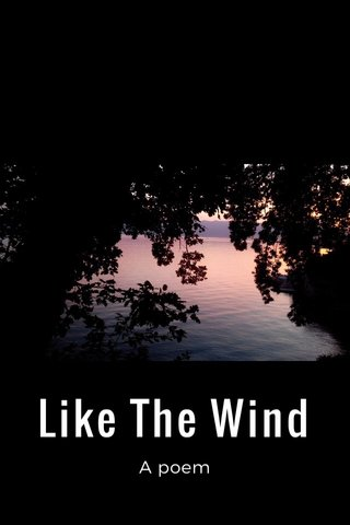 Like The Wind A poem