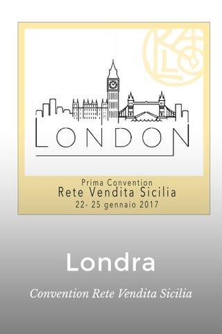 Londra Convention Rete Vendita Sicilia