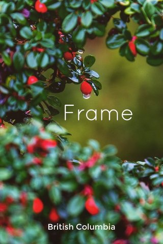 Frame British Columbia