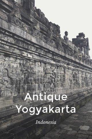 Antique Yogyakarta Indonesia