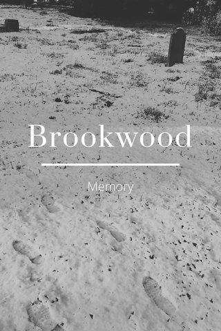 Brookwood Memory