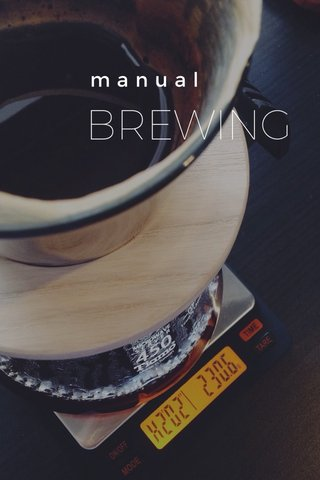 BREWING manual