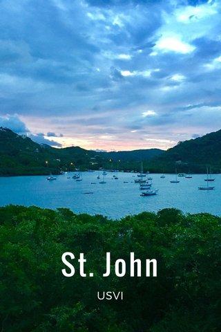 St. John USVI