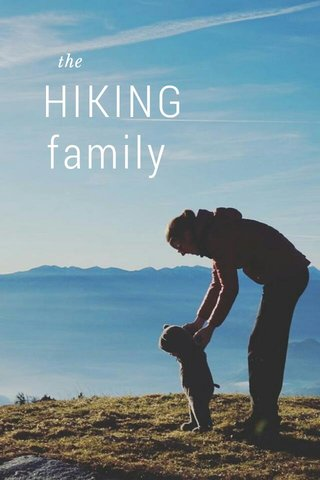 HIKING family the