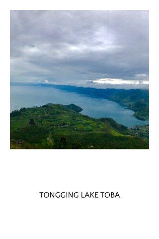 TONGGING LAKE TOBA