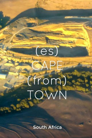 (es) CAPE (from) TOWN South Africa