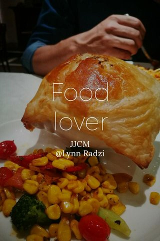 Food lover JJCM @Lynn Radzi