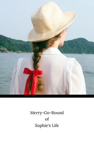 Merry-Go-Round of Sophie's Life