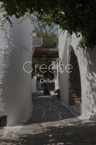 Greece Cicladi