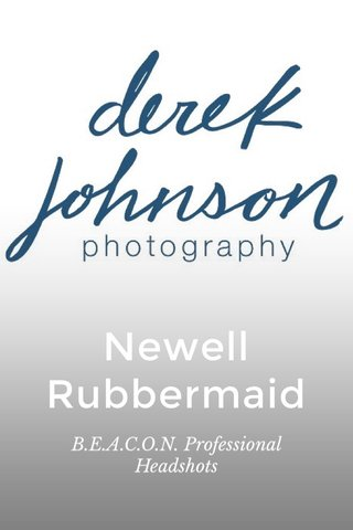 Newell Rubbermaid B.E.A.C.O.N. Professional Headshots