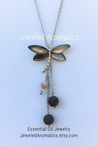 Jeweled Aromatics Essential Oil Jewelry JeweledAromatics.etsy.com