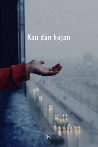 Kau dan hujan N