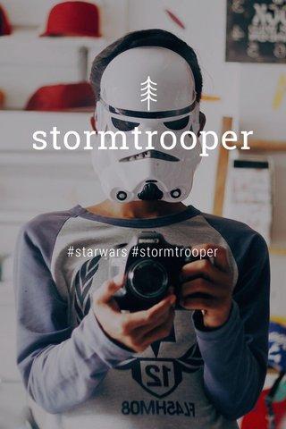 stormtrooper #starwars #stormtrooper