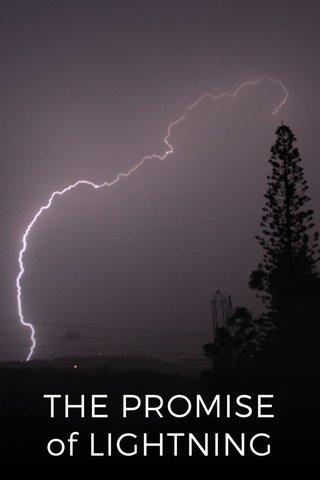 THE PROMISE of LIGHTNING